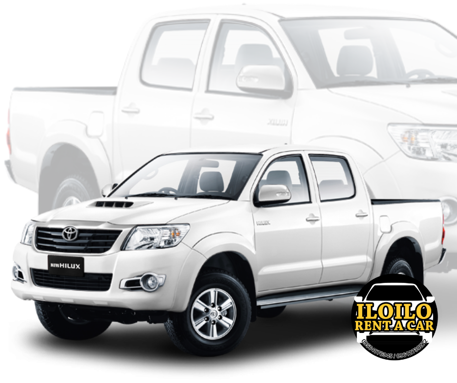 iloilo rent a car toyota hilux pickup truck