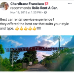 best iloilo car rental